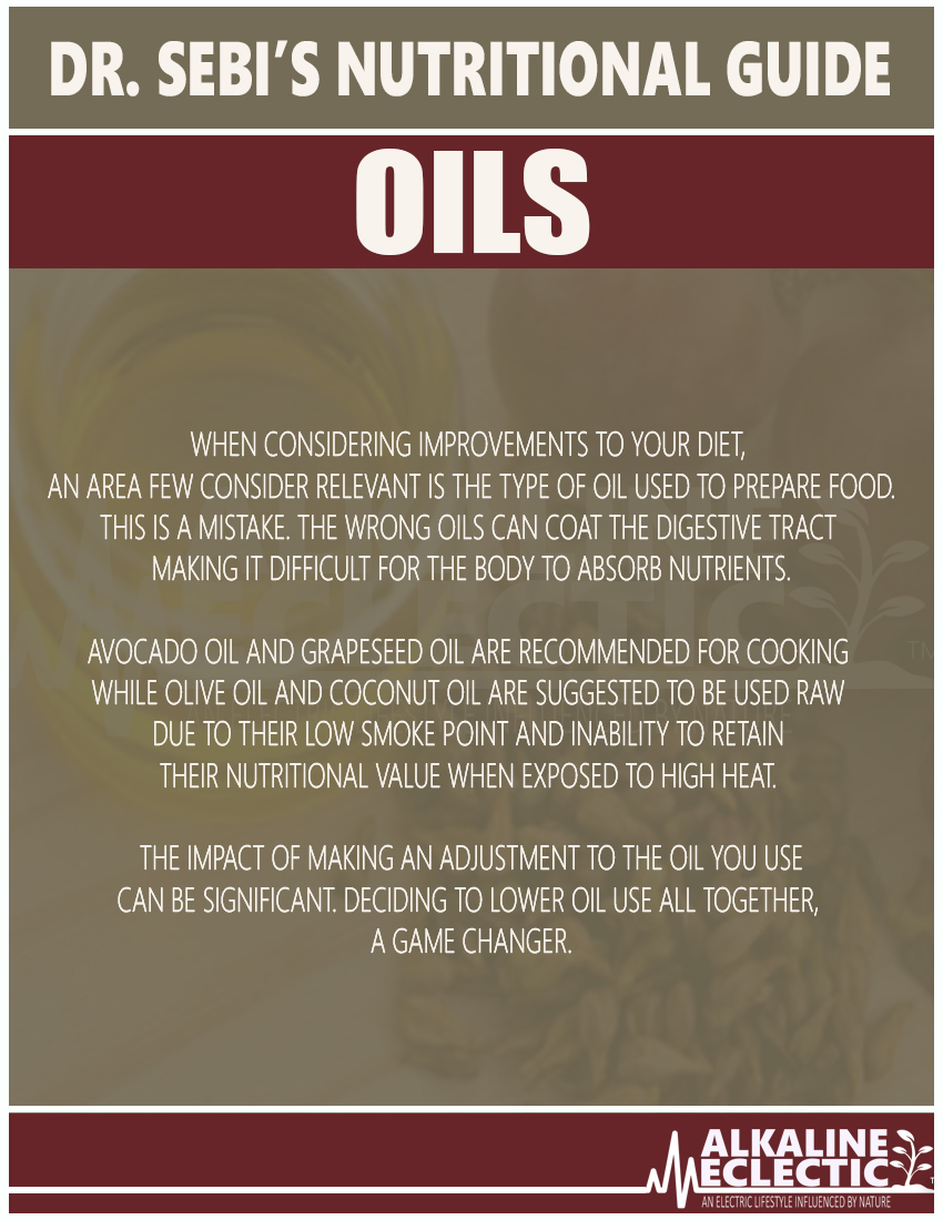 NUTRITIONAL GUIDE OIL INTRO FINAL